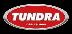 Tundra logo, bas de page